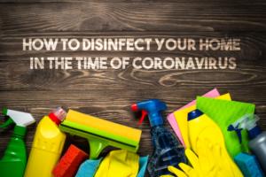 Disinfect Home Coronavirus